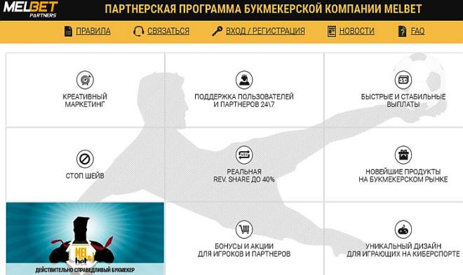 инфографика возможностей мелбет