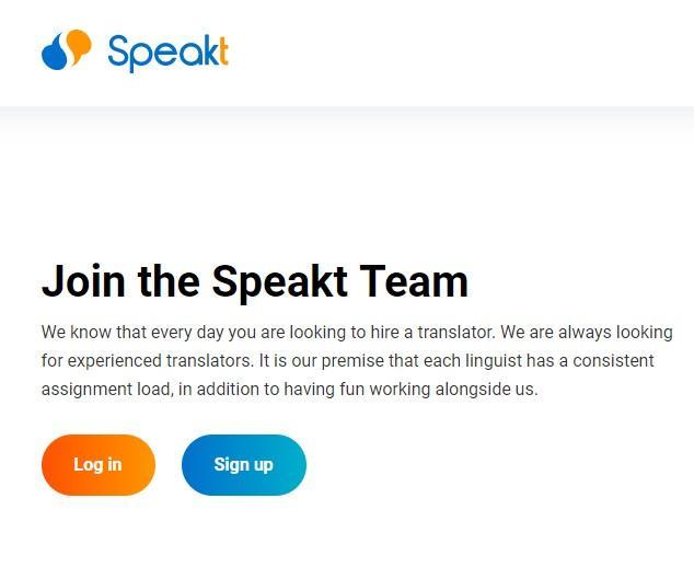 Англоязычная площадка для переводчиков - SpeakT