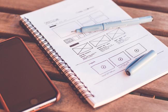 Рисование макета сайта