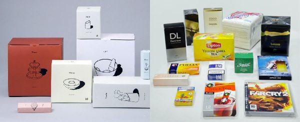 Сравнение простой и брендовой упаковки